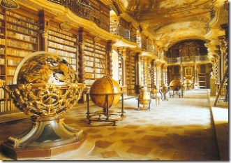 The Clementinum Baroque Library, Prague