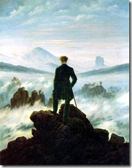 Friedrich.Wanderer Above the Sea of Fog