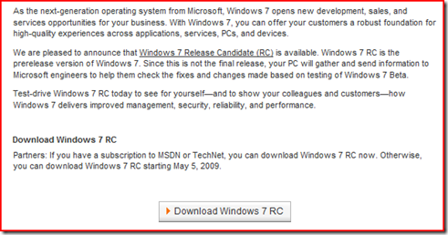 Waiting for the Windows 7 Release Candidate | The