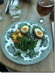 Scotch Eggs, British Museum Restaurant