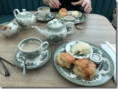 Tea and Scones, British Museum Restaurant
