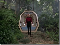 Riker in the Holodeck