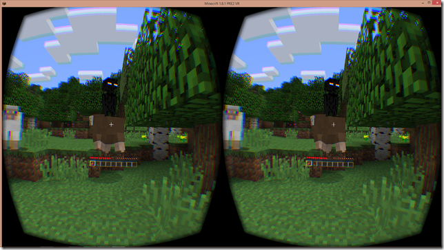 Minecraft in Virtual Reality and Augmented Reality | The Imaginative
