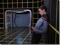 wesley in the holodeck